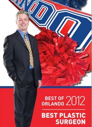 Orlando magazine best plastic surgeon 2012 featuring dr. gross
